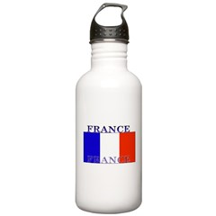 France French Flag Water Bottle