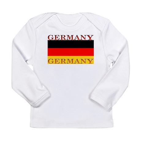 Germany German Flag Long Sleeve Infant T-Shirt