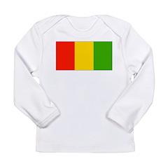 Guinea Blank Flag Long Sleeve Infant T-Shirt