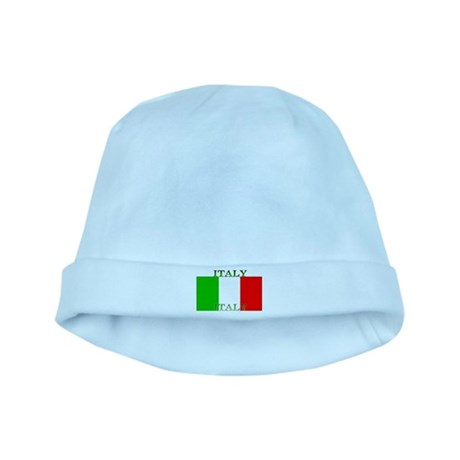 Italy Italian Flag baby hat