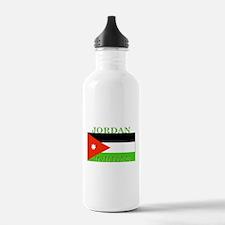 Jordan Jordanian Flag Water Bottle