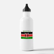 Kenya Kenyan Flag Water Bottle