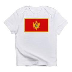 Montenegro Montenegrin Blank Infant T-Shirt
