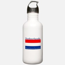 Netherlands Dutch Flag Water Bottle