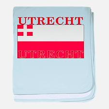 Utrecht Flag baby blanket