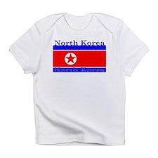 North Korea Korean Flag Infant T-Shirt