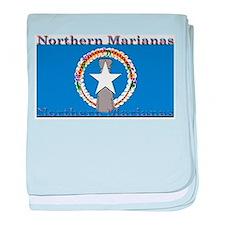Northern Marianas baby blanket