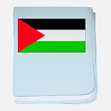 Palestinian Blank Flag baby blanket