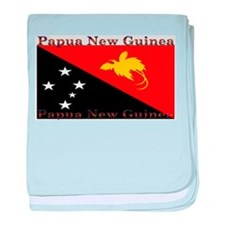 Papua New Guinea baby blanket