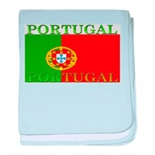 Portugal Portuguese Flag baby blanket