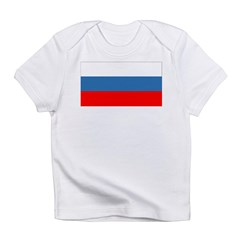 Blank Russia Flag Section Infant T-Shirt