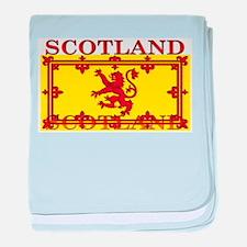 Scotland Scottish Flag baby blanket