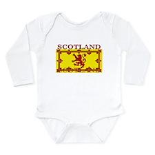 Scotland Scottish Flag Long Sleeve Infant Bodysuit