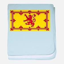 Scotland Scottish Blank Flag baby blanket