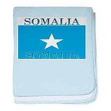 Somalia Somali Flag baby blanket