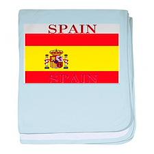 Spain Spanish Flag baby blanket