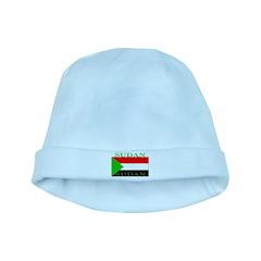 Sudan Sudanese Flag baby hat