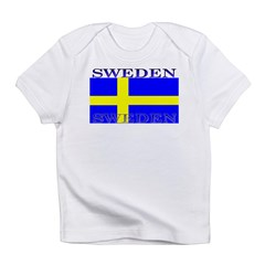Sweden Swedish Flag Infant T-Shirt