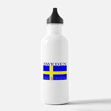 Sweden Swedish Flag Water Bottle