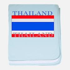 Thailand Thai Flag baby blanket