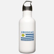 Uruguay Uruguayan Flag Water Bottle