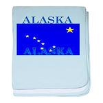 Alaska State Flag baby blanket