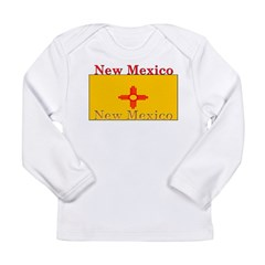 New Mexico State Flag Long Sleeve Infant T-Shirt