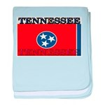Tennessee State Flag baby blanket