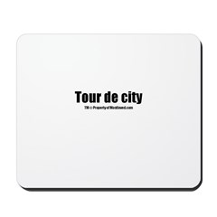 Tour de city(TM) Mousepad