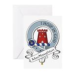 MacNaughten Clan Badge Greeting Cards (Package of