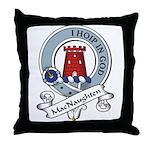 MacNaughten Clan Badge Throw Pillow