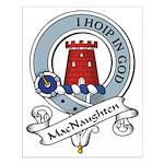 MacNaughten Clan Badge Small Poster