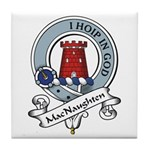 MacNaughten Clan Badge Tile Coaster