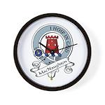 MacNaughten Clan Badge Wall Clock
