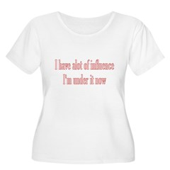 I Have A Lot Of Influence I'm T-Shirt