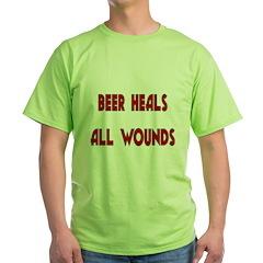 Beer Heals All Wounds T-Shirt