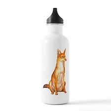 Golden Jackal Zoo Water Bottle