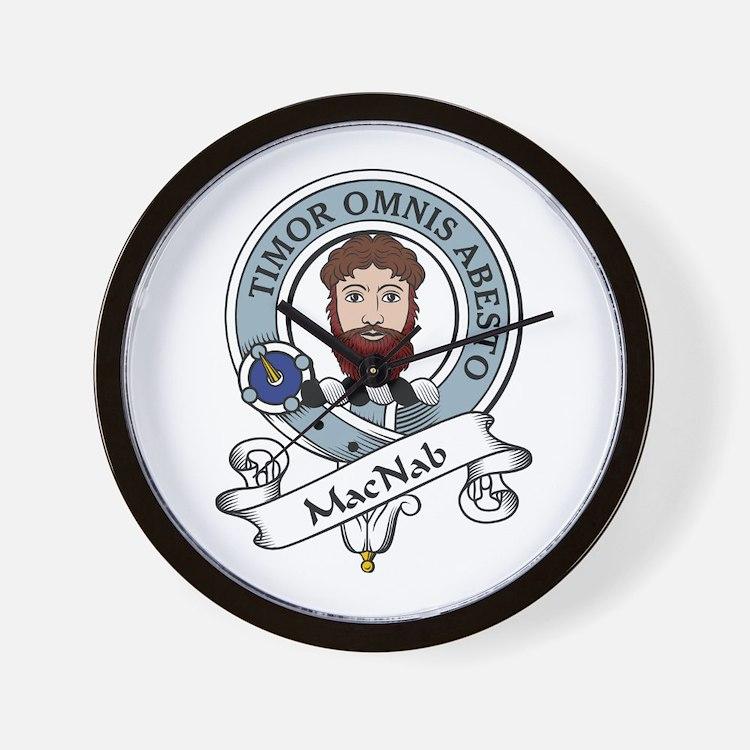 MacNab Clan Badge Wall Clock