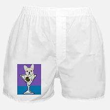 Cream French Bulldog Boxer Shorts