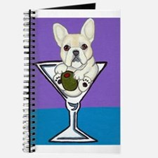 Cream French Bulldog Journal