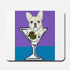 Cream French Bulldog Mousepad