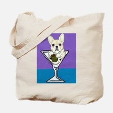 Cream French Bulldog Tote Bag