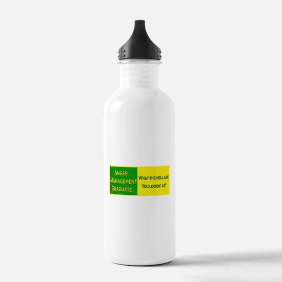 Anger Management Funny Water Bottle