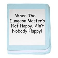 Dungeon Master RPG baby blanket