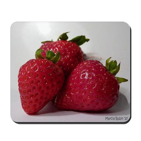 Strawberry Trio Mousepad