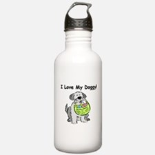 Happy Easter Dog Doggy Water Bottle