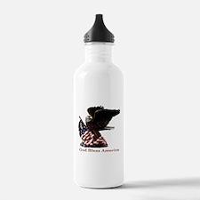 God Bless America Eagle Water Bottle