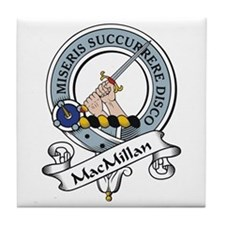 MacMillan Clan Badge Tile Coaster