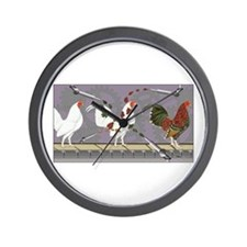 Poultry Painter Wall Clock