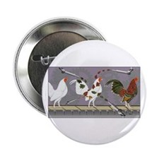 "Poultry Painter 2.25"" Button"